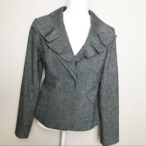 Saks Fifth Avenue Tweed Blazer